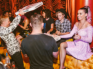 Katy Perry Parties with Rumored Boyfriend Diplo in Las Vegas