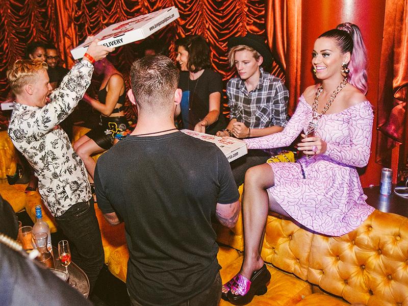 Katy Perry Parties with Rumored Boyfriend Diplo in Las Vegas