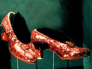 What Do the Oz Ruby Slippers & Superman's Cape Have in Common?