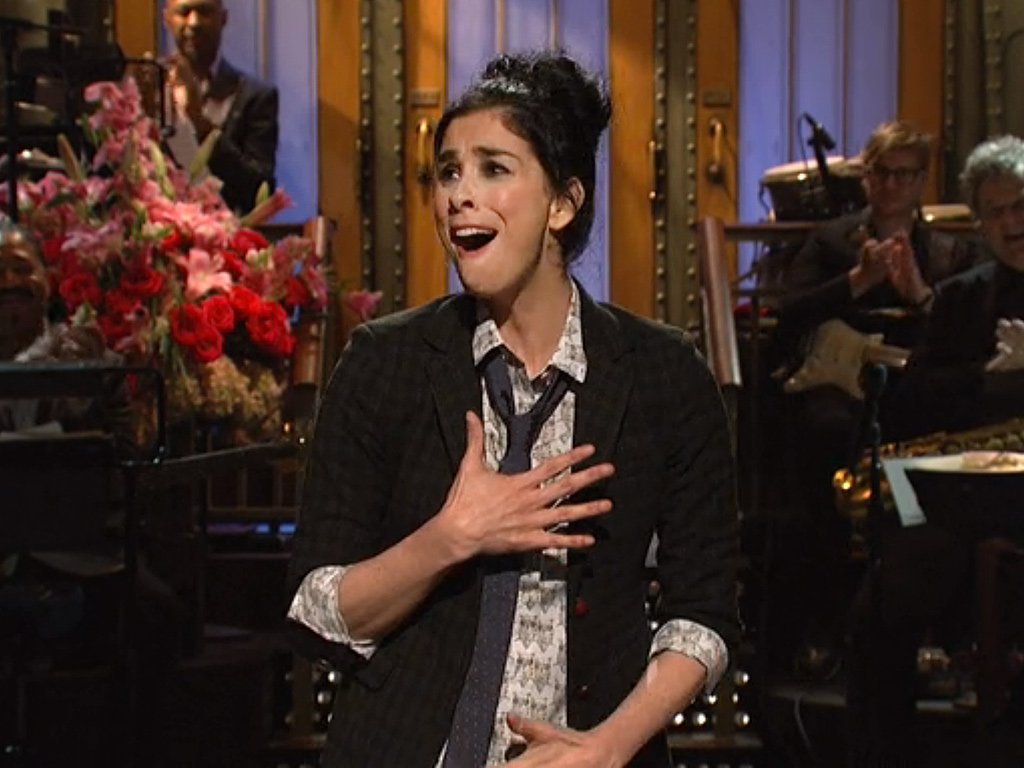 Sarah Silverman on snl