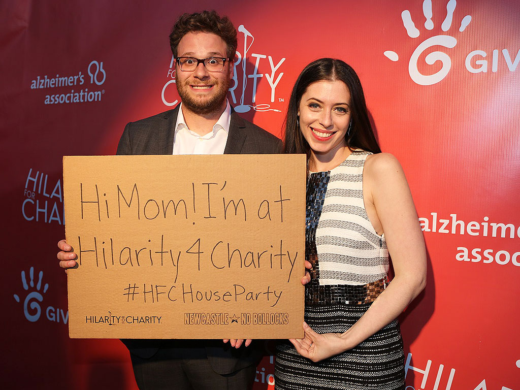 Seth Rogen Wants to Make You Laugh – for a Great Cause