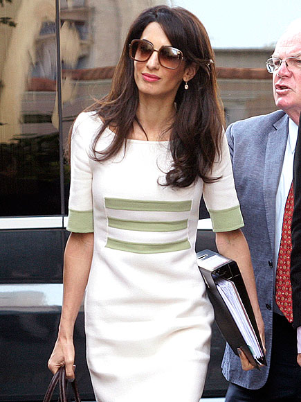 Amal Clooney Talks Work – and George!