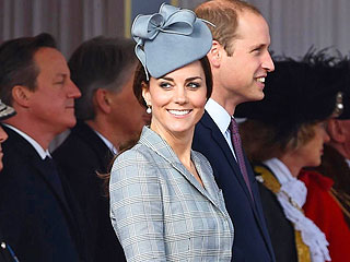 William & Kate Enjoy a Scottish Babymoon – with Prince George!