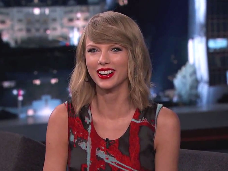 Jimmy Kimmel taylor swift
