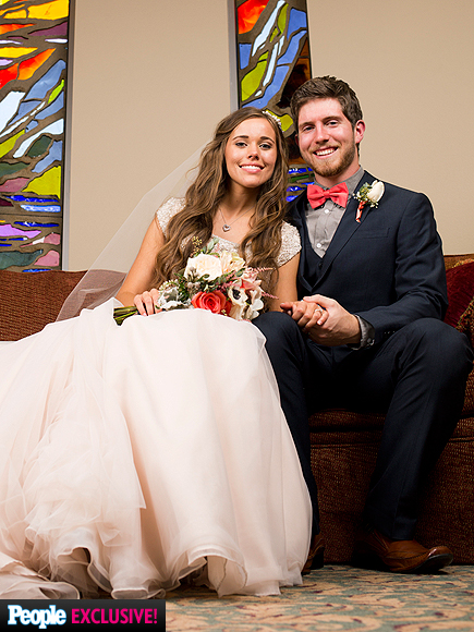 Jessa Duggar and Ben Seewald Are Married, See Her Wedding Dress: Photo