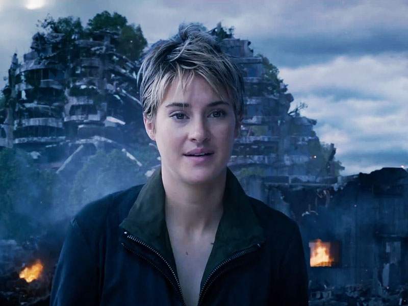 Insurgent trailer watch things heat up for shailene woodley in the