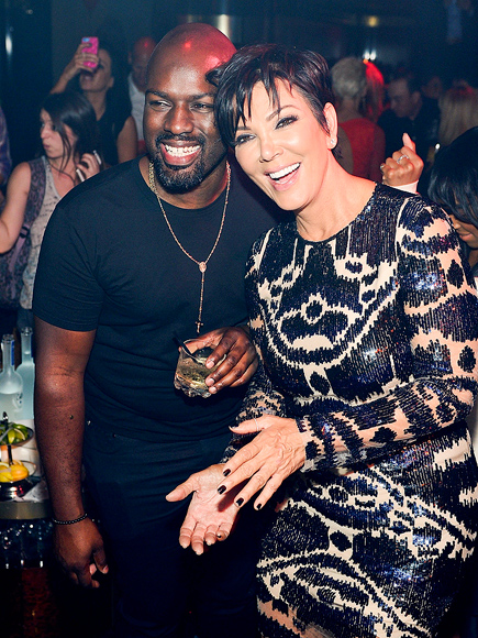 Kris Jenner Parties with Corey Gamble at 59th Birthday Bash in Las Vegas