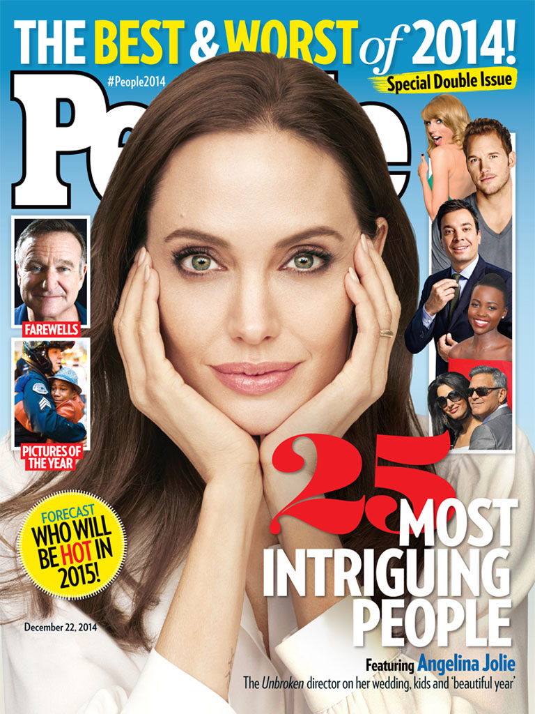 Angelina Jolie on Her Biggest Moments of 2014: Marriage, Unbroken and Maddox Turning 13