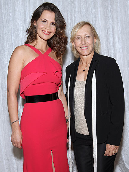 Martina Navratilova Marries Julia Lemigova