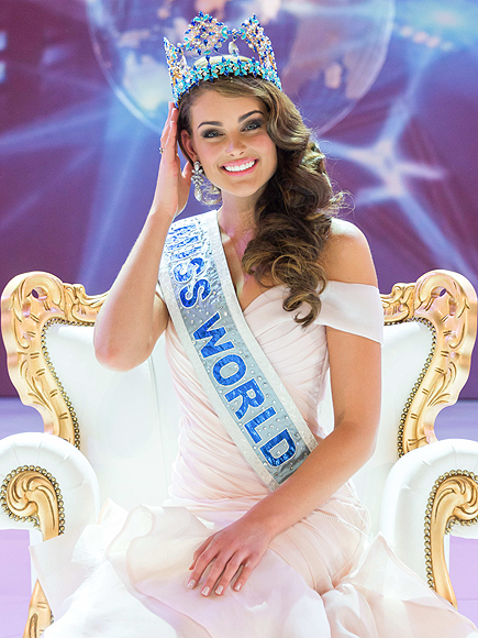 Miss World 2014 Winner: Rolene Strauss, Miss South Africa