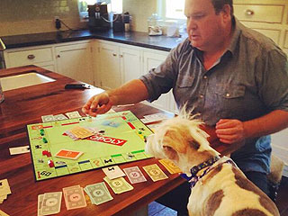 The Daily Treat: Eric Stonestreet's Dog Dictates Their Monopoly Token Choices | Eric Stonestreet