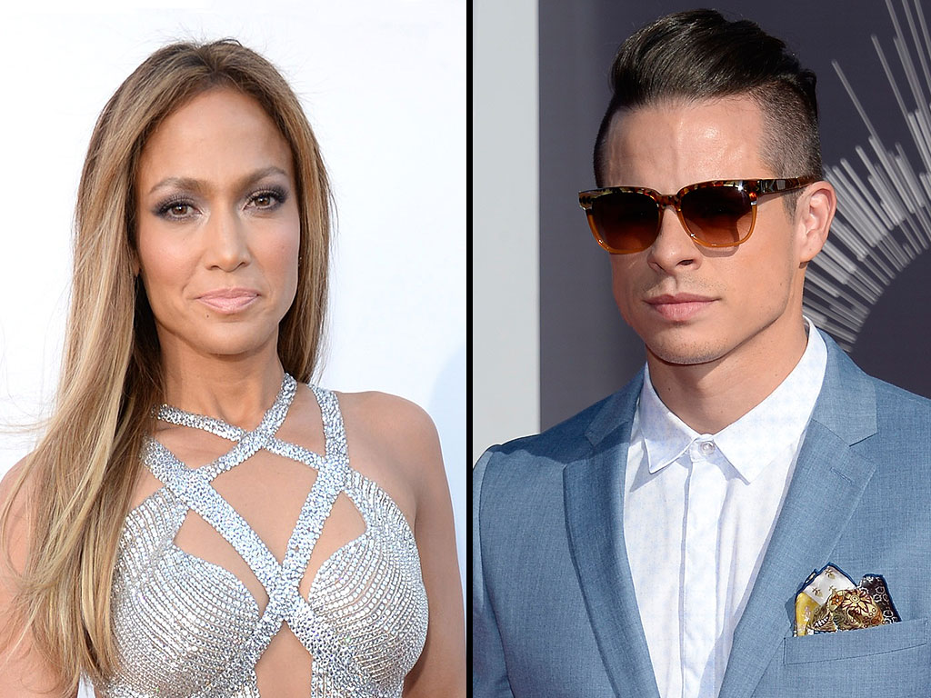 VMAs 2014: Jennifer Lopez and Casper Smart Spotted Together