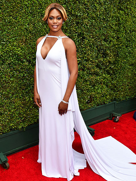 Emmys 2014: Laverne Cox Cried During Gown Fitting