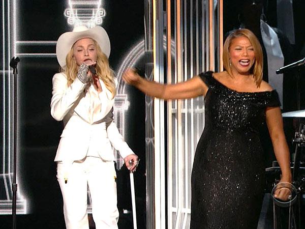 Grammys 2014 MarriageQueen Latifah 2014 Grammys