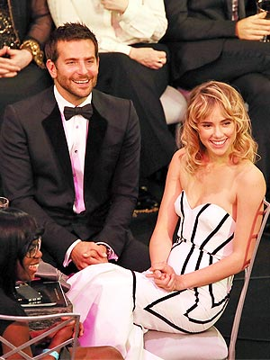 SAG Awards: Bradley Cooper Brings Suki Waterhouse