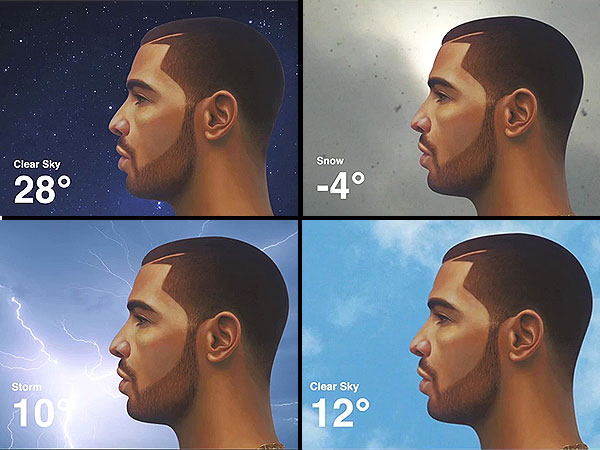 Drake Weather App Debuts