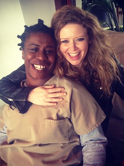 Orange is the New Black Cast Season 2 Photos to Instagram