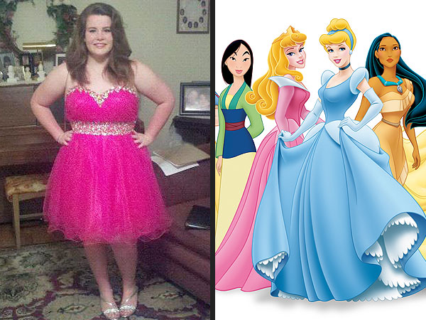 Teen Girl Starts Petition for Plus-Size Disney Princess