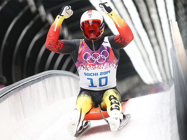 Sochi Winter Olympics 2014: See Luge Racers' Facial Expressions