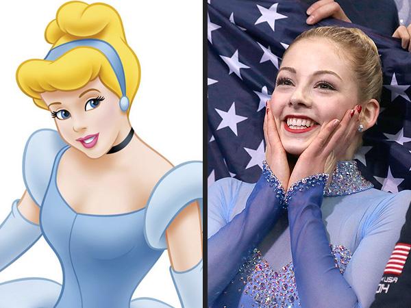 Olympian Disney Doppelgangers