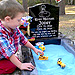 Mom Adds Sandbox to Boy's Grave So Older Son Can Play with His Brother
