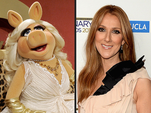 Muppets Star Miss Piggy and Celine Dion May Have Duet at Oscars