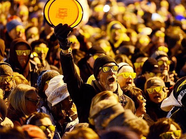 LaughFest Breaks Record for Most Pairs of Sunglasses Worn at Night