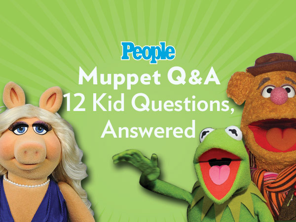 Muppets Kermit, Miss Piggy and More Answer Questions from Kids