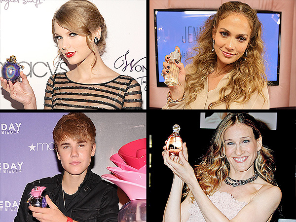 National Fragrance Day: Celebrity Scents Throughout the Years