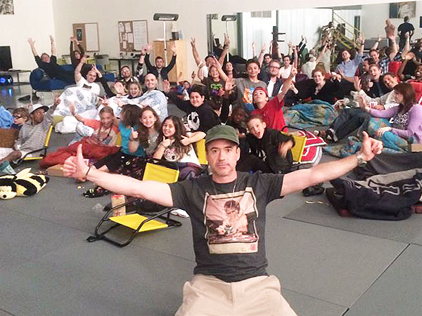 Robert Downey Jr. Throws Kids a Birthday Screening of 'Captain America'