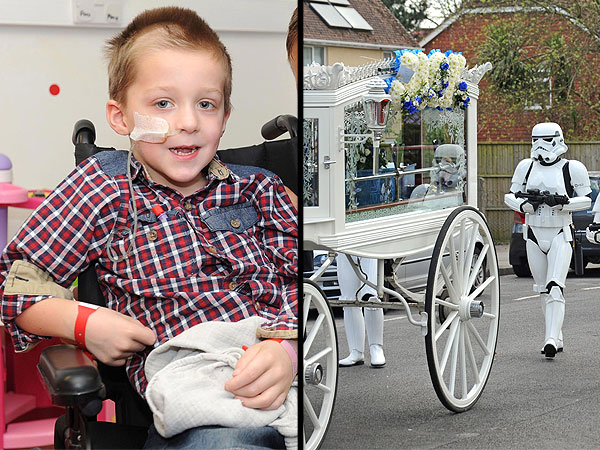 Jack Robinson: Parents Throw 'Star Wars' Funeral for Boy Who Died of Cancer