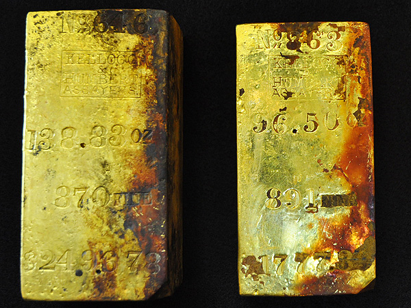 Gold Bars and Coins Found in South Carolina Sunken Ship S.S. Central America