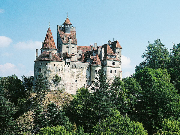 Bran Castle, Bram Stoker's Inspiration for Dracula's Castle, for Sale