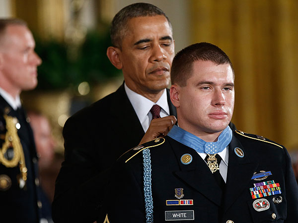 2014 Medal of Honor Recipient Army Sergeant Kyle J. White