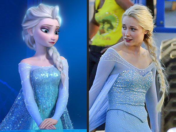 Frozen's Elsa on Once Upon a Time: See Georgina Haig in Costume (Photo)