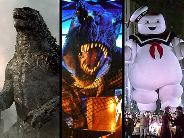 Godzilla, Transformer and Other Blockbuster Movie Monsters Destruction chart