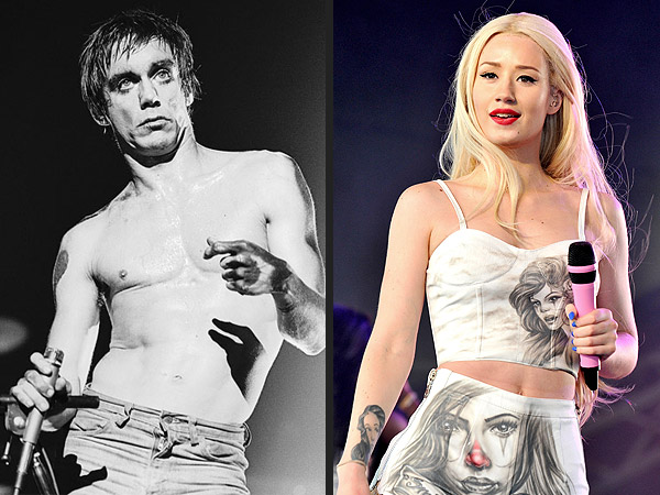 Iggy Azalea vs Iggy Pop