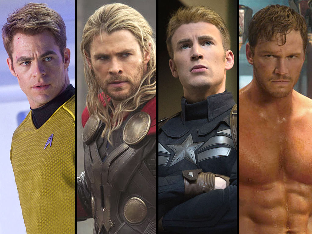 Chris Pratt, Chris Evans, Chris Hemsworth or Chris Pine: Which Chris is Best?