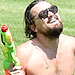 Leonardo DiCaprio Playing with a Water Gun Is the New Leonardo DiCaprio Walking Down the Street Meme