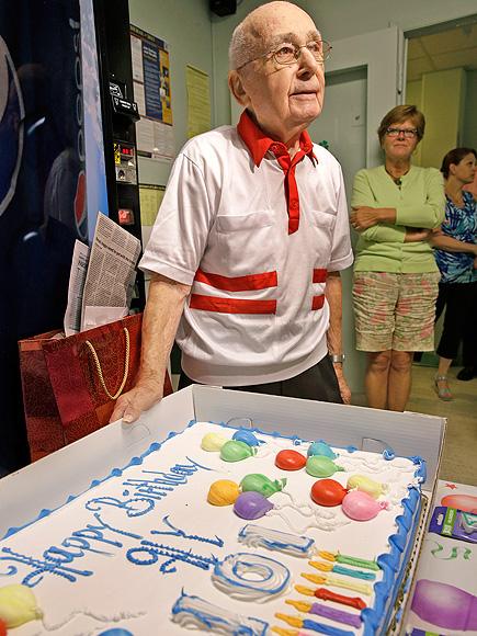 New Jersey Man Celebrates 101st Birthday at Work