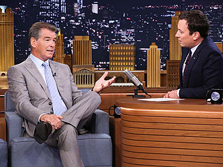 Pierce Brosnan Loses to Jimmy Fallon in 'GoldenEye 007' (VIDEO)