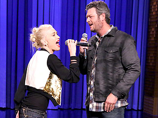 Gwen Stefani Takes on Blake Shelton in a Lip-Sync Face-Off