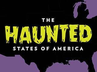 The Haunted States of America: Iconic Ghosts of the Union (Infographic)