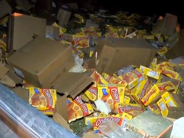 Corn Dog Crash: Truck Spills 75,000 Snacks Across I-220 in Shreveport