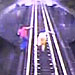 Indiana Women Narrowly Escape Getting Hit by a Train (VIDEO)