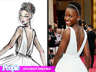 PEOPLE's 2014 Best Dressed List … Illustrated!