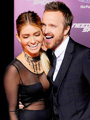 Aaron Paul: Lauren Parsekian and I Have Never Fought