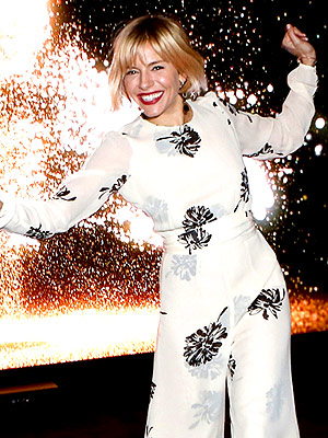 Star Tracks: Sienna Goes for the Gold | Sienna Miller