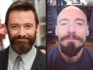 Say Goodbye to Hugh Jackman's Pointy Pan Beard! (VIDEO)