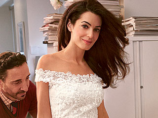 Go Inside Amal Alamuddin's Final Gown Fitting with Oscar de la Renta! (PHOTO)